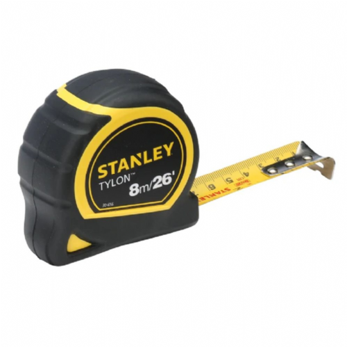 Stanley 130656 Tylon™ Pocket Tape Measure 8m/26ft (Width 25mm)